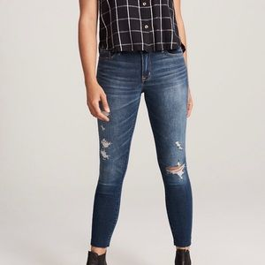 Abercrombie & Fitch Super Skinny Ankle Jeans